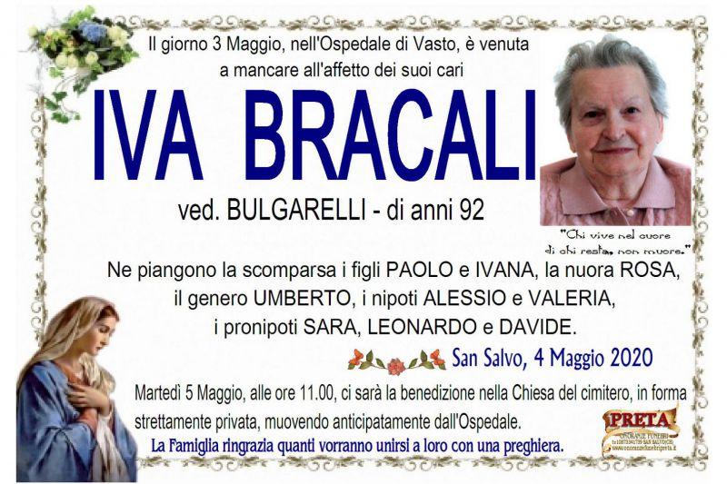 Iva Bracali 4/05/2020