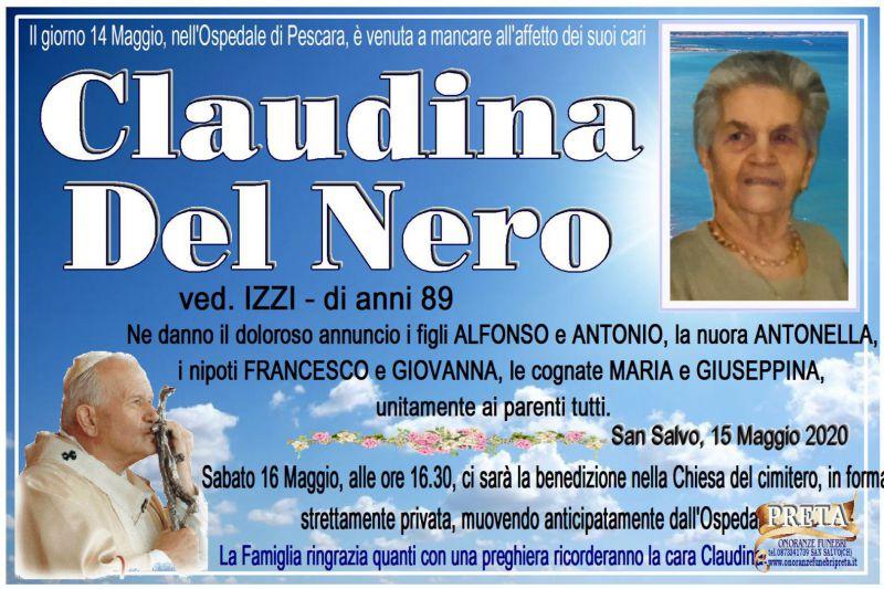 Claudina Del Nero 15/05/2020