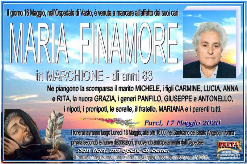 Maria Finamore 17/05/2020