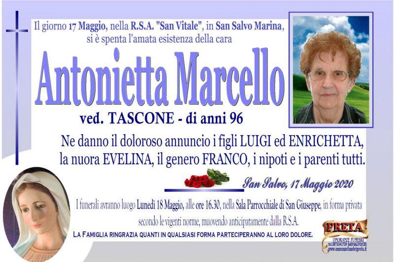 Antonietta Marcello 17/05/2020