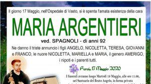 Maria Argentieri 17/05/2020