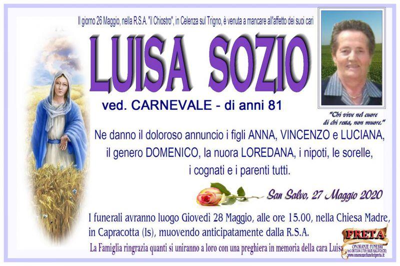 Luisa Sozio 26/05/2020
