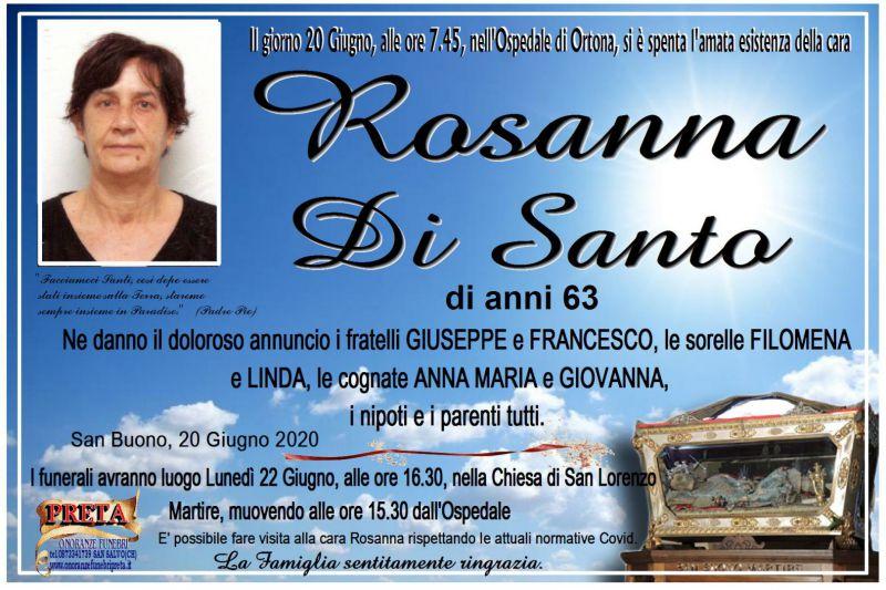 Rosanna Di Santo 20/06/2020