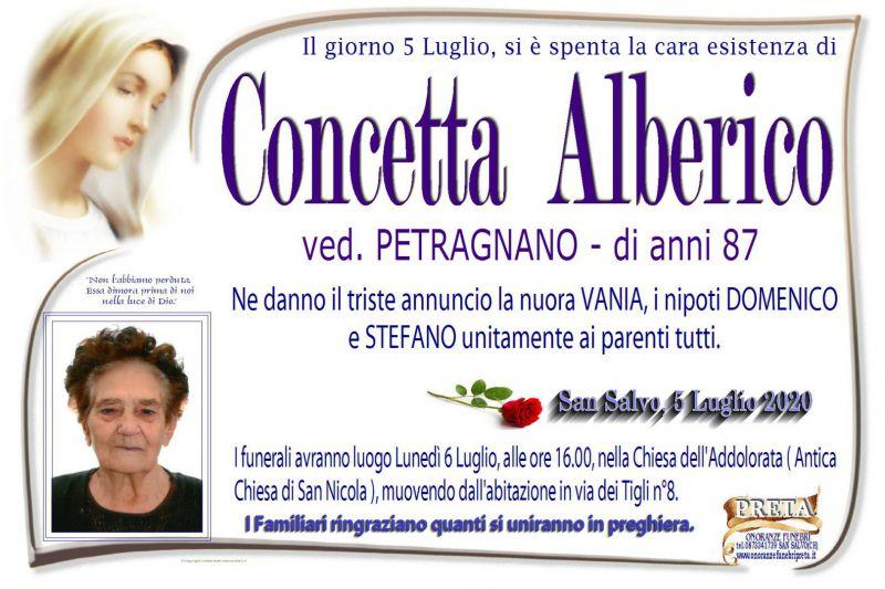 Concetta Alberico 5/07/2020