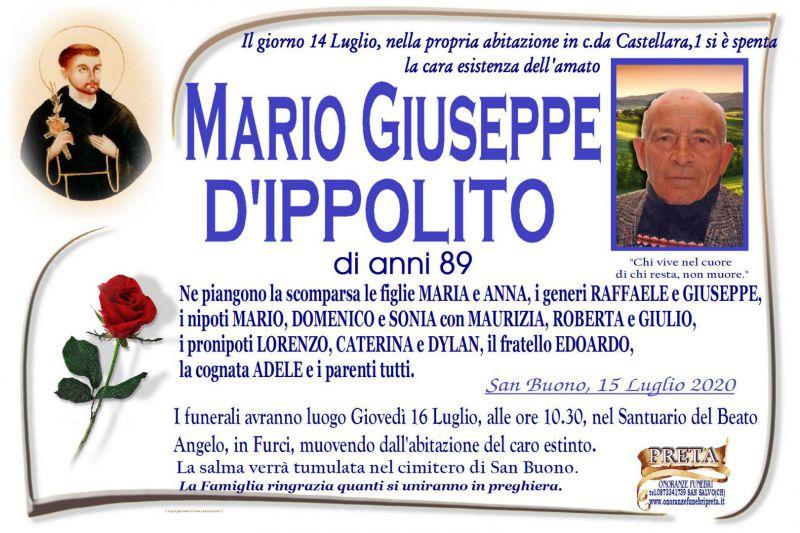 Mario Giuseppe D'Ippolito 15/07/2020