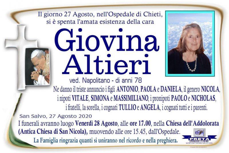 Giovina Altieri 27/08/2020
