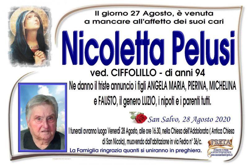 Nicoletta Pelusi 27/08/2020