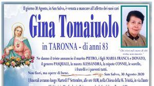 Gina Tomaiuolo 30/08/2020