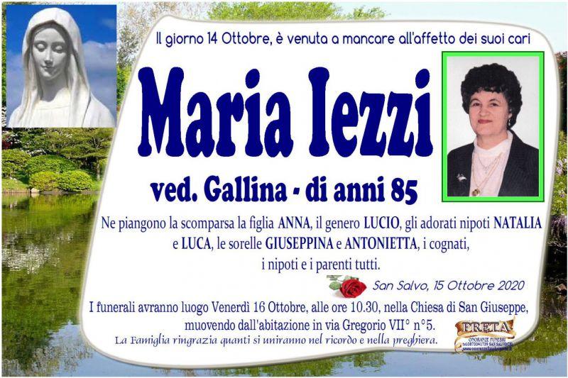 Maria Iezzi 14/10/2020