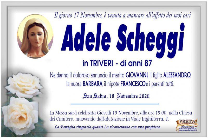 Adele Scheggi 18/11/2020