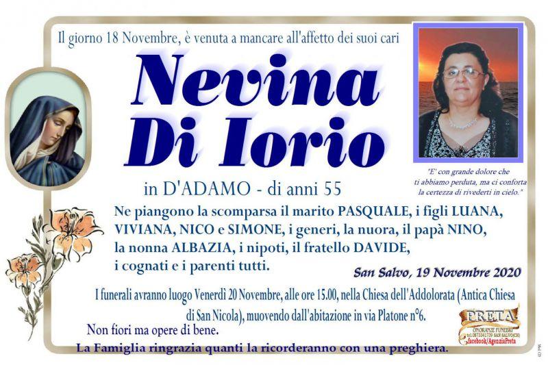 Nevina Di Iorio 18/11/2020