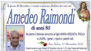 Amedeo Raimondi 21/12/2020