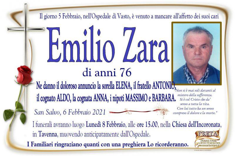 Emilio Zara 6/02/2021