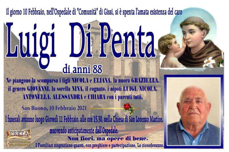Luigi Di Penta 10/02/2021