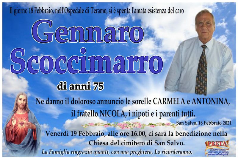 Gennaro Scoccimarro 18/02/2021