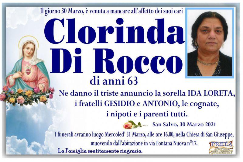 Clorinda Di Rocco 30/03/2021