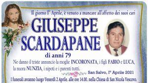 Giuseppe Scardapane 1/04/2021