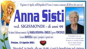 Anna Sisti 13/04/2021