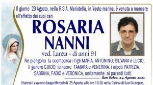 Rosaria Nanni 24/08/2021