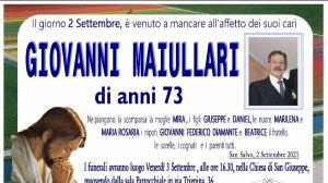 Giovanni Maiullari 2/09/2021