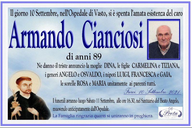 Armando Cianciosi 10/09/2021